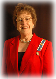 Betty Stevens, Treasurer
