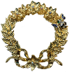 Wreath & Bee design
