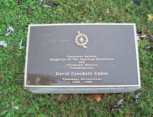 Tennessee Society DAR and Chickasaw District marker