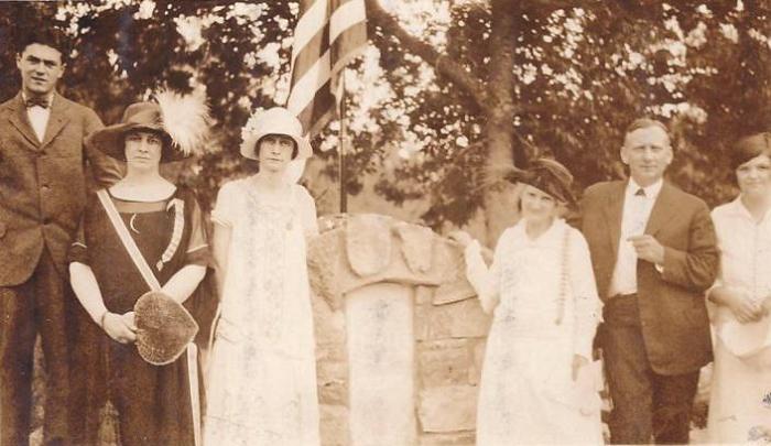 Judge David Campbell grave marking 1925