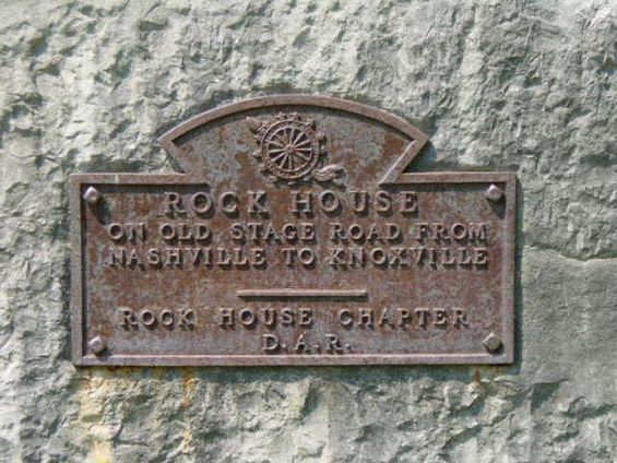 In 1930, a DAR chapter chose the Rock House as their chapter name