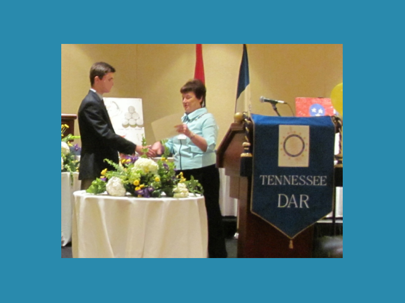 DAR Good Citizen award presentation