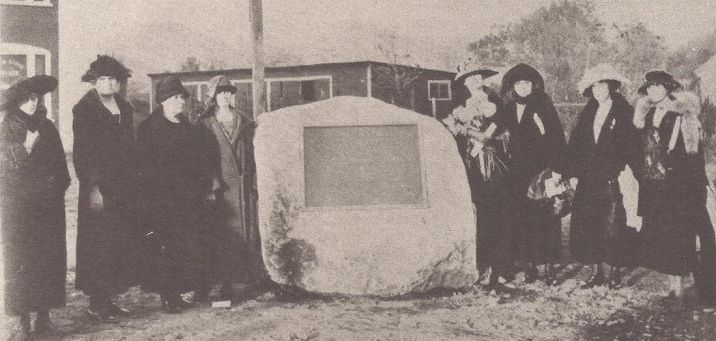 Watauga Old Fields marker dedication 1923