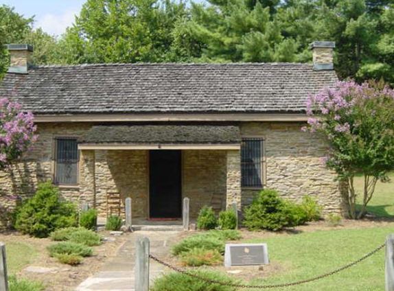 The Rock House was an early toll house and stage stop