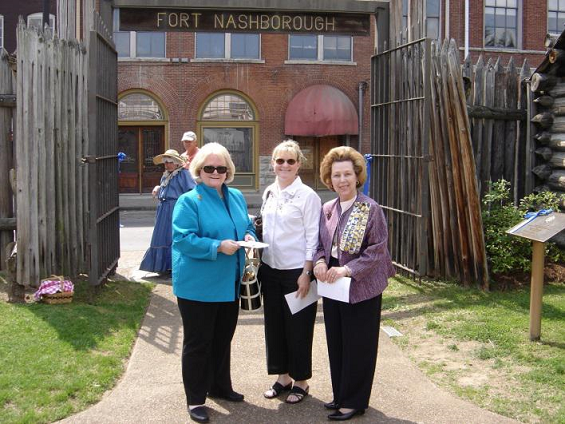 DAR Members at Fort Nashborough Days celebration