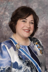 Cecile S. Wimberley, Tennessee DAR State Regent